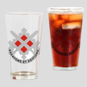 DUI-18th Engineer Brigade Drinking Glass