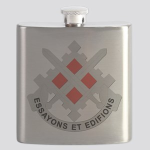 DUI-18th Engineer Brigade Flask