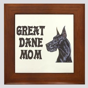 C Blk GD Mom Framed Tile