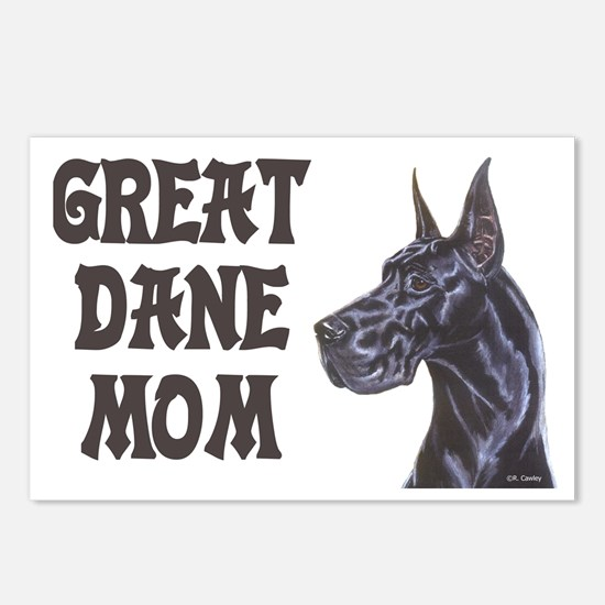 C Blk GD Mom Postcards (Package of 8)