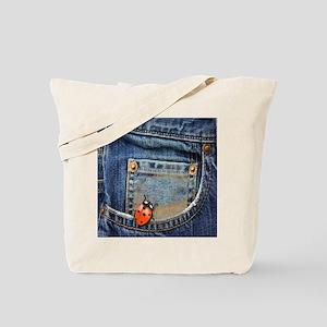 Lady Bug Levi Fun Tote Bag