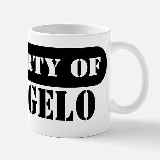Property of Deangelo Mug