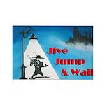 Jive Jump & Wail Rectangle Magnet