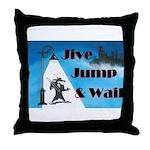 Jive Jump & Wail Throw Pillow