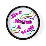 Jive Jump & Wail Wall Clock