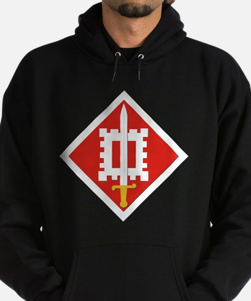 SSI-18th Engineer Brigade Hoodie (dark)