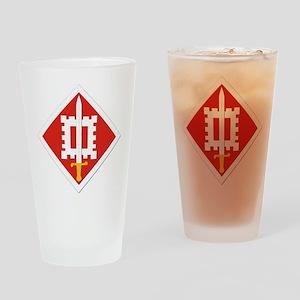SSI-18th Engineer Brigade Drinking Glass