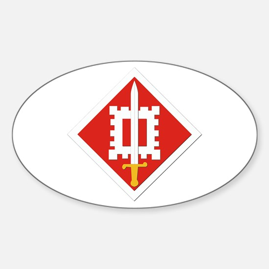 SSI-18th Engineer Brigade Sticker (Oval)