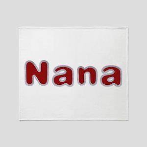Nana Santa Fur Throw Blanket