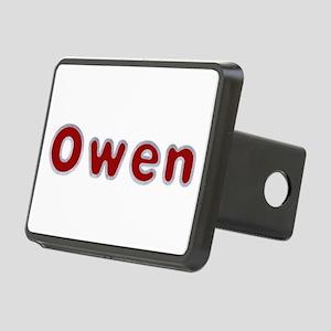 Owen Santa Fur Rectangular Hitch Cover