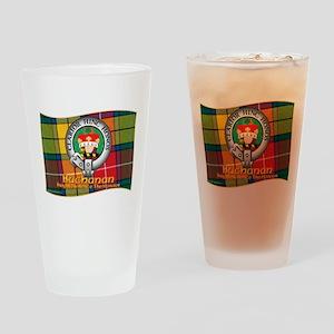 Buchanan Clan Drinking Glass