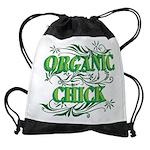Organic Chick Drawstring Bag
