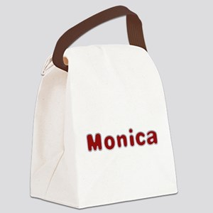 Monica Santa Fur Canvas Lunch Bag