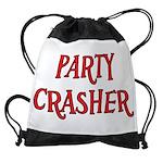 Party Crasher Drawstring Bag