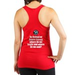 Where Begin and End Racerback Tank Top