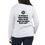 Where Begin and End Women's Long Sleeve T-Shirt