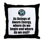 Where Begin and End Throw Pillow