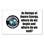 Where Begin and End Sticker (Rectangle 50 pk)