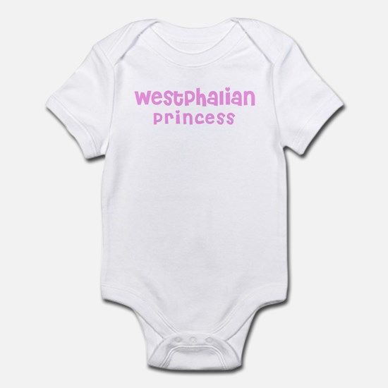 Westphalian Princess Infant Bodysuit