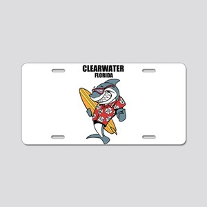 Clearwater, Florida Aluminum License Plate