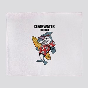 Clearwater, Florida Throw Blanket