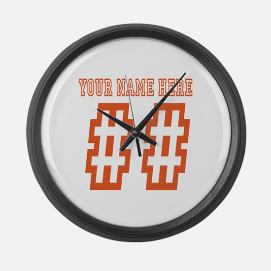 Game Day Large Wall Clock