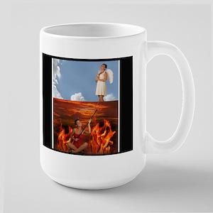 Large Mug-Devil Angel