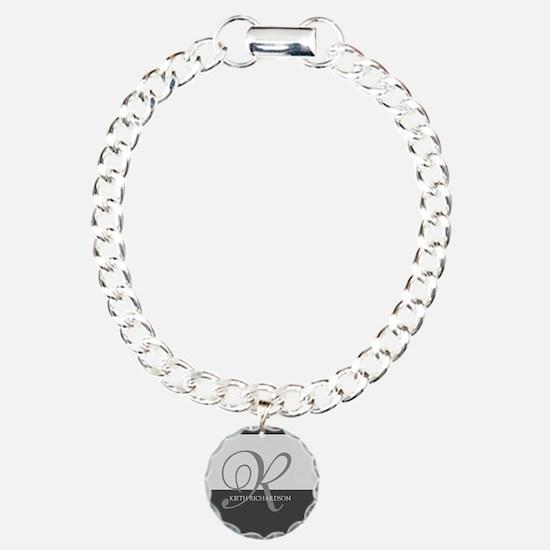 Elegant Custom Monogram Bracelet