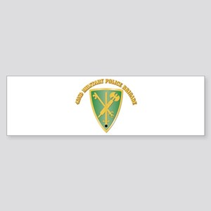 SSI - 42nd Military Police Brigade With Text Stick