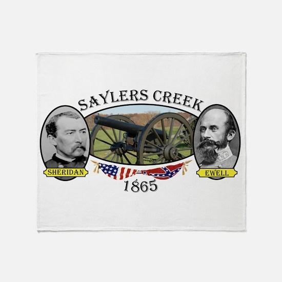 Saylers Creek Throw Blanket