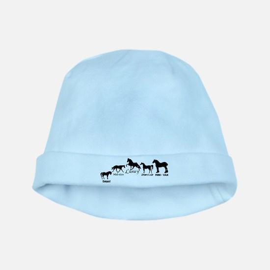 Horses baby hat
