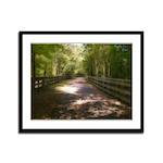Long Walk Home Framed Panel Print