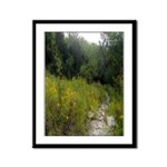 Country Meadow Framed Panel Print