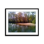 Serenity Spring Framed Panel Print