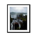 Brazil Waterfalls Framed Panel Print