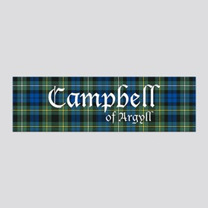 Tartan - Campbell of Argyll 36x11 Wall Decal