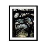 Through the Woods Framed Panel Print