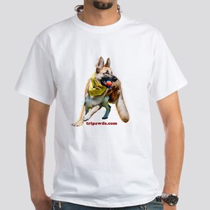 Tripawds Three Legged GSD Ball T-Shirt