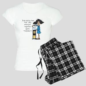 Taxes Humor Women's Light Pajamas