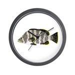 Leather Bass Wall Clock