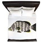 Leather Bass King Duvet