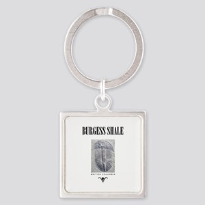 Burgess Shale Square Keychain