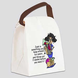 Junk Canvas Lunch Bag