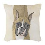 Boxer Woven Throw Pillow