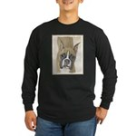 Boxer Long Sleeve Dark T-Shirt
