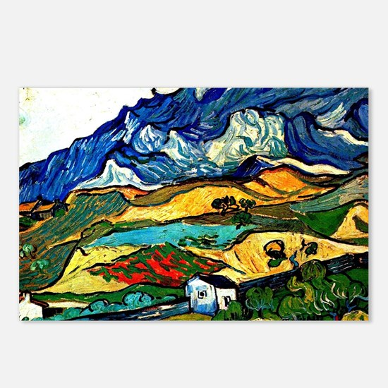 Van Gogh - Les Alpilles M Postcards (Package of 8)