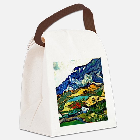 Van Gogh - Les Alpilles Mountain  Canvas Lunch Bag