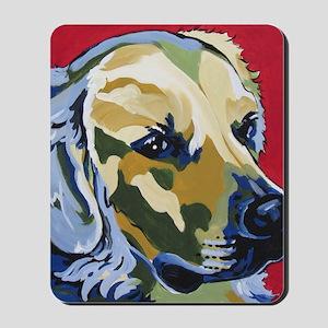 Golden Retriever - James Mousepad