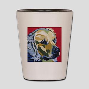 Golden Retriever - James Shot Glass