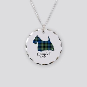 Terrier - Campbell of Argyll Necklace Circle Charm